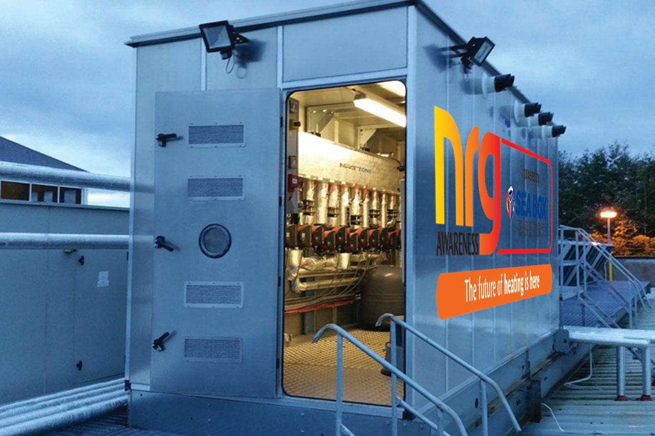 NRG Modular Boiler house, is a custom heating design solution